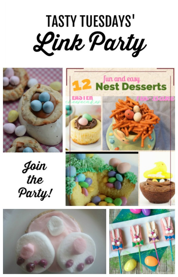 Tasty Tuesdays' Link Party features April 9