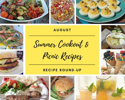AUGUST recipe roundup