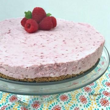 Easy Raspberry Cream Cheese Dessert - feature