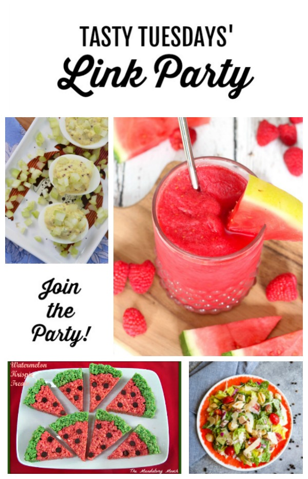 Tasty Tuesdays' Link Party features for July 9