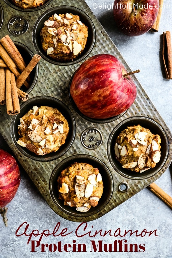 Healthy-Apple-Muffins-Protein-Muffin