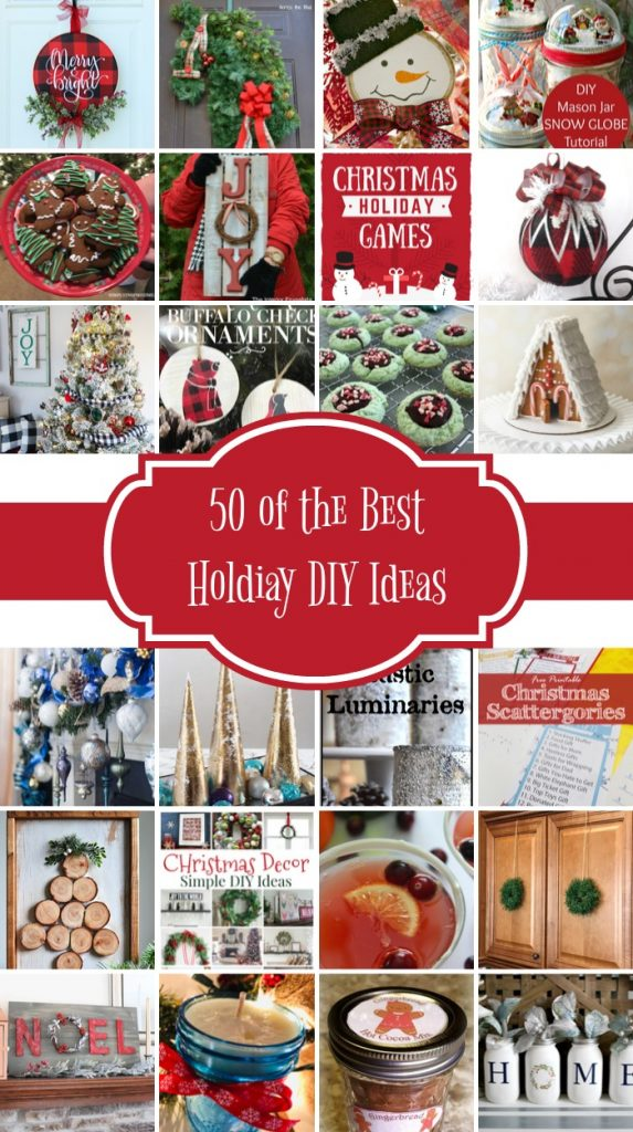 Best holiday diy ideas collage