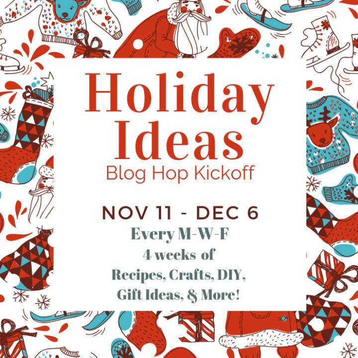 Best holiday ideas round up blog hop logo