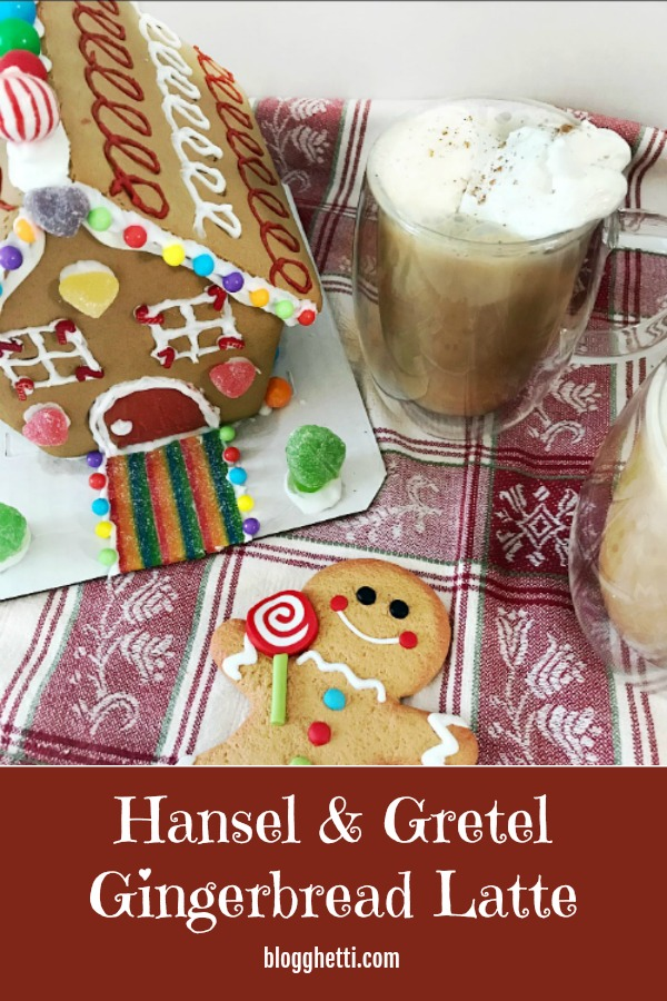 Hansel and Gretel Gingerbread Latte - pin