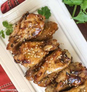 Garlic-chicken-wings-instant-pot