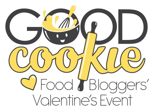 Good cookie food bloggers' Valentine event logo
