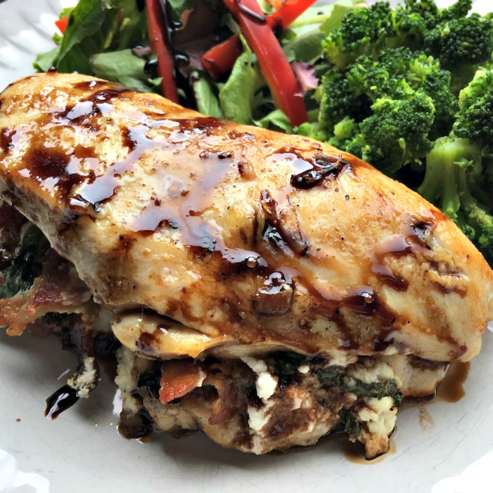stuffed chicken breasts - sqaure