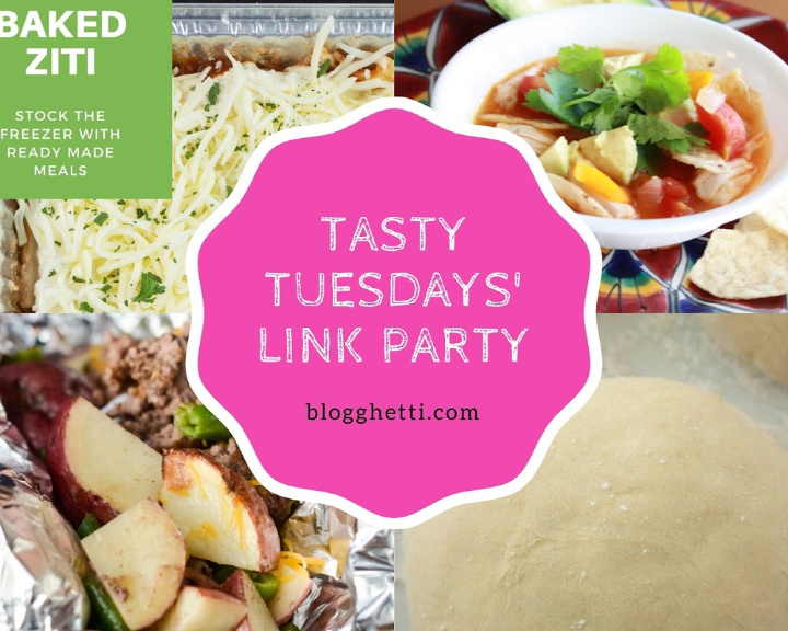 Tasty Tuesdays Link Party features for March 17