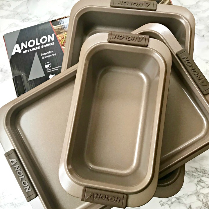 set of baking pans from Anolon