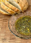 Italian herb oil for dipping