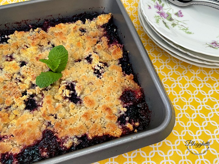 Easy Blackberry Cobbler Dessert