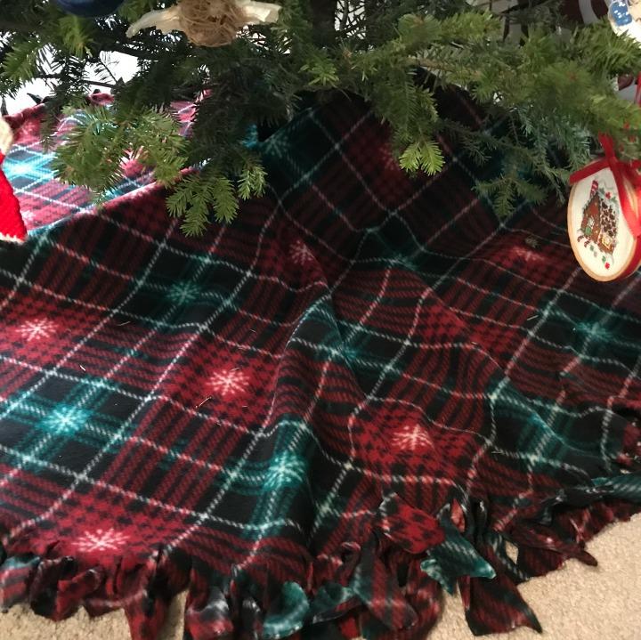 handmade tree skirt