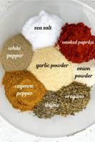 Ingredients for Easy Homemade Cajun Seasoning