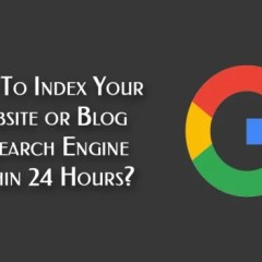 How to index you blogger blog on search engine