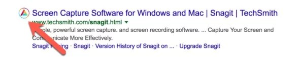 Affilitizer Icon on Google search results