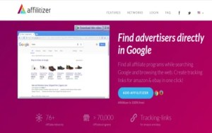 Affilitizer Chrome Extension Or Firefox Add-on For Finding New Affiliate Programs