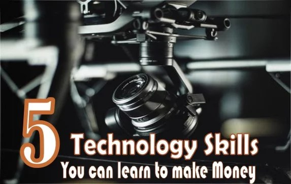 5 Technology Skills You Can Learn Today and Start Making Money