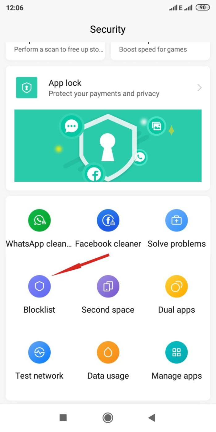 Security App Display on Xiaomi Phones
