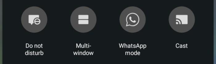 WhatsApp Mode Icon