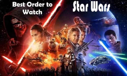 Best Order to Watch Star Wars Movies on Disney Plus