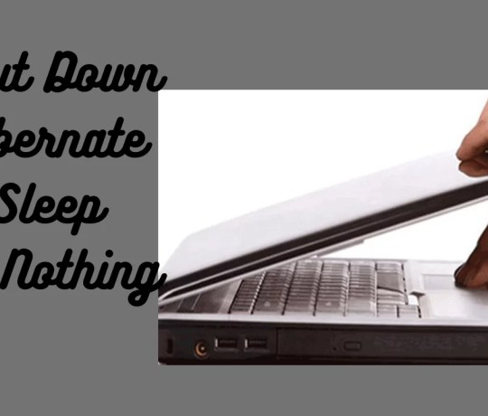 How to Choose What Happens When You Close Your Laptop