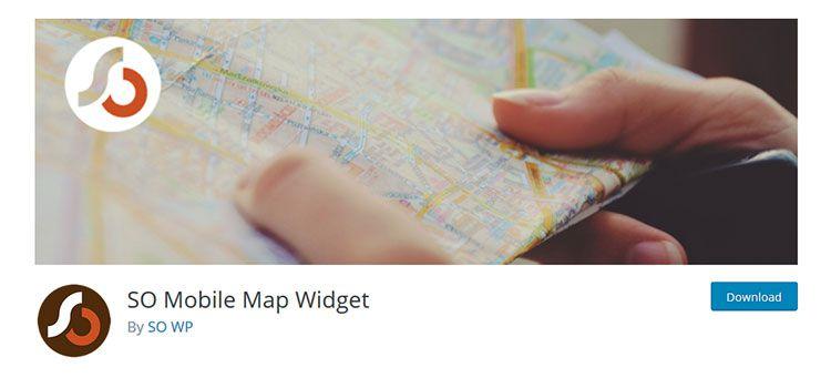 SO Mobile Map Widget