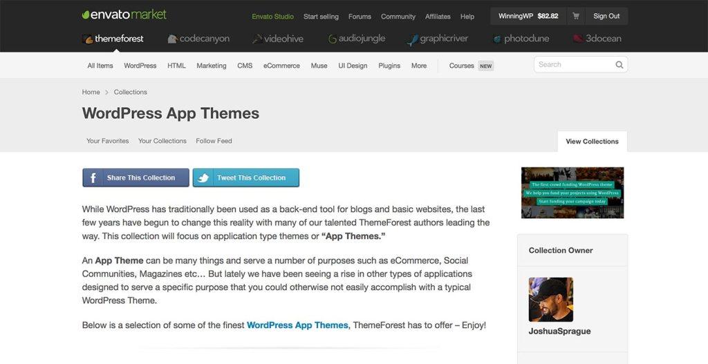 ThemeForest - App-Themen
