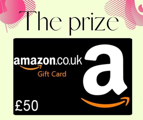 Win a £50 Amazon gift card