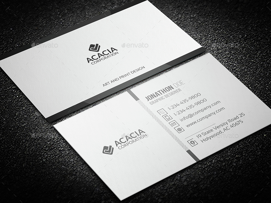 31 professional simple business cards templates for 2018 simple business cards colourmoves