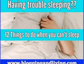 Things to do when you can't sleep