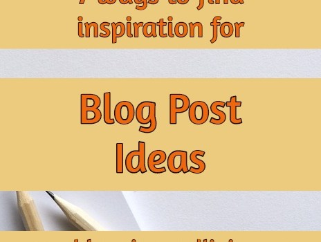 blog post ideas