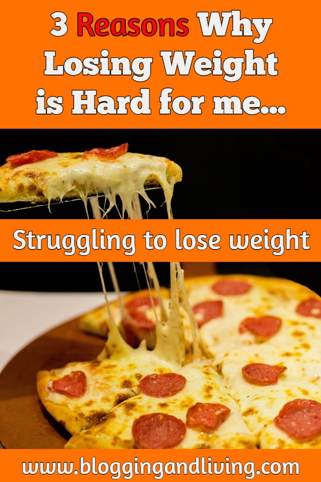 losing weight is hard