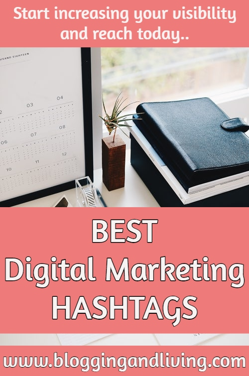 digital marketing hashtags