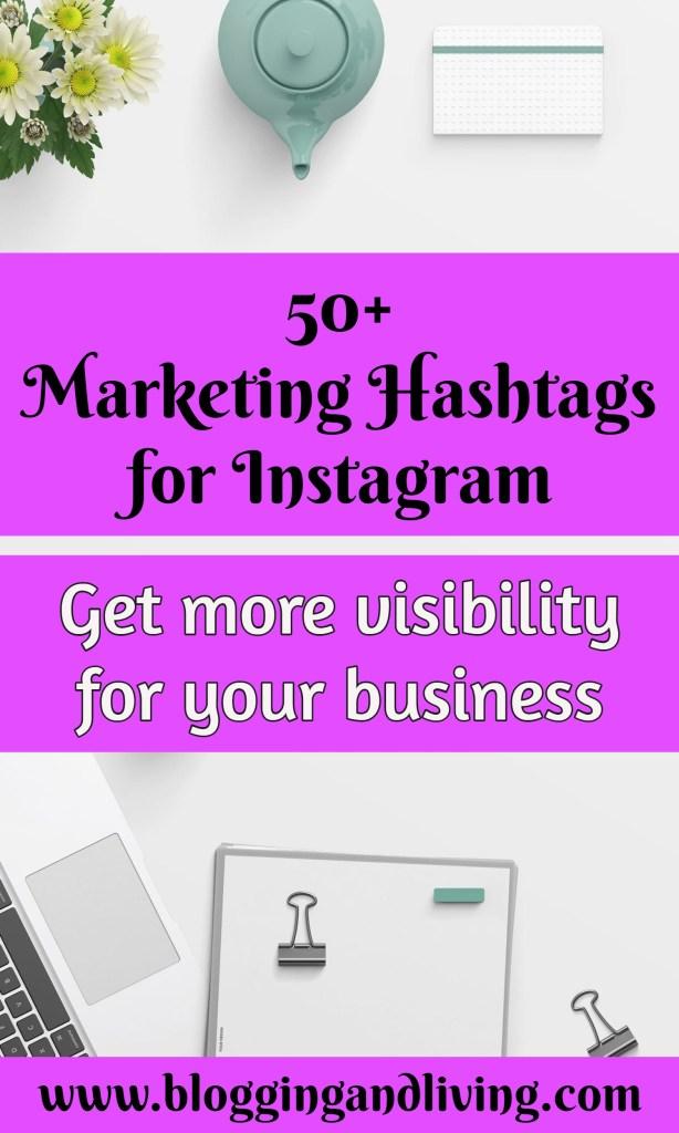 marketing hashtags