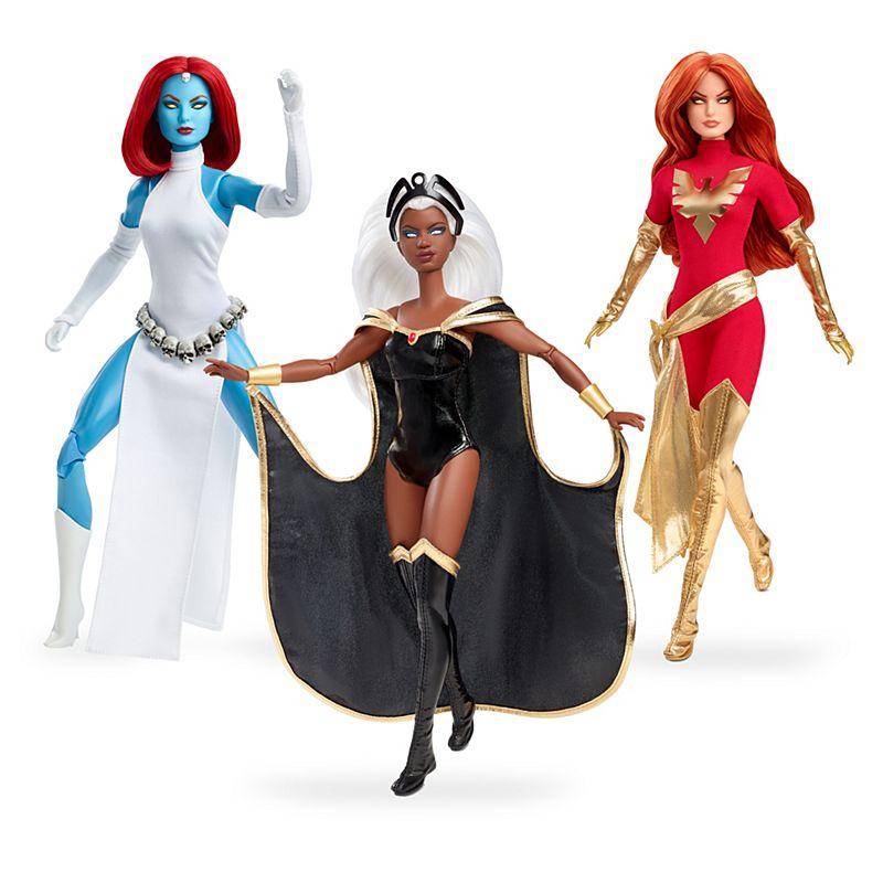 marvel barbie doll set