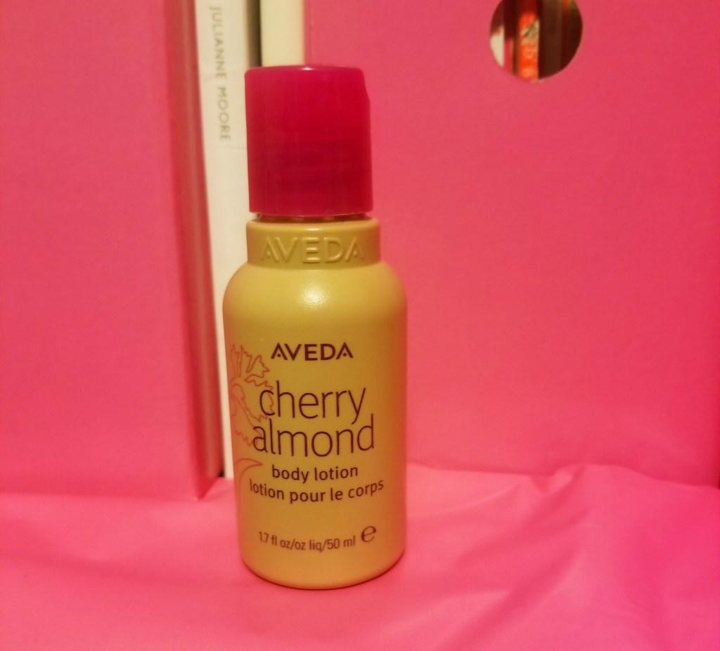 I tried Aveda Cherry Almond body lotion along with the Aveda Cherry Almond hand and body wash | Review