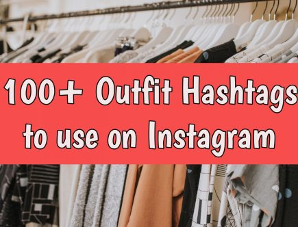 outfit hashtags