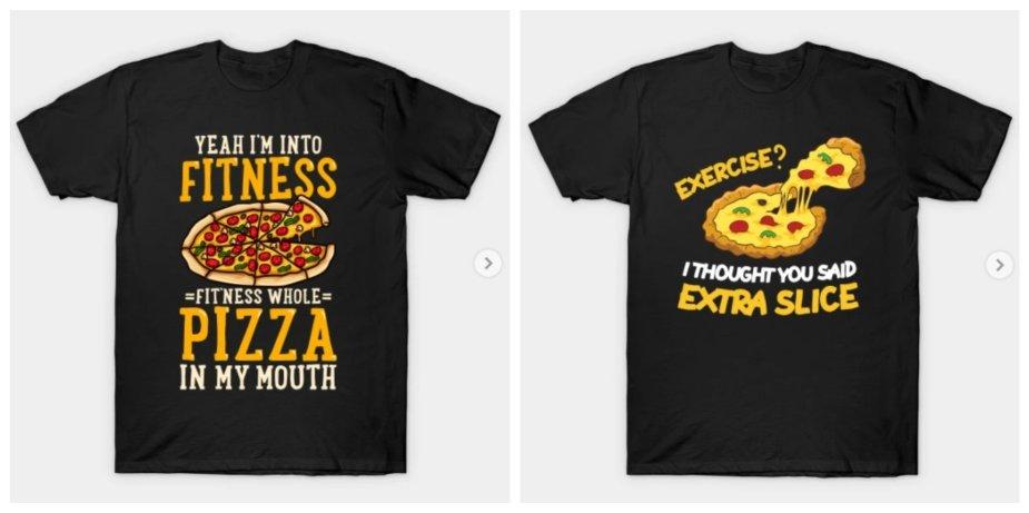 pizza shirts