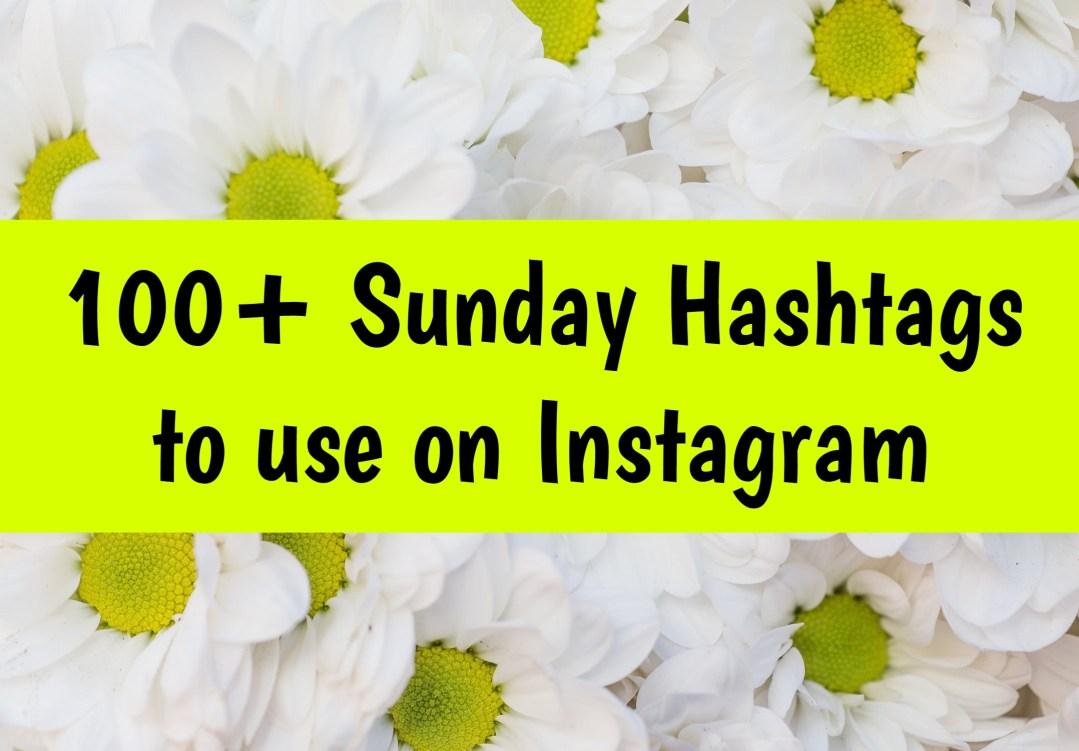 sunday hashtags