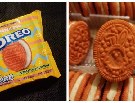 Easter egg Oreo cookies