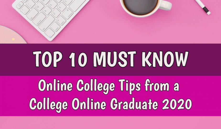 Online College Tips