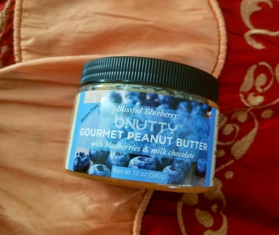 bNutty gourmet peanut butter