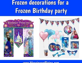 Frozen Birthday Decorations