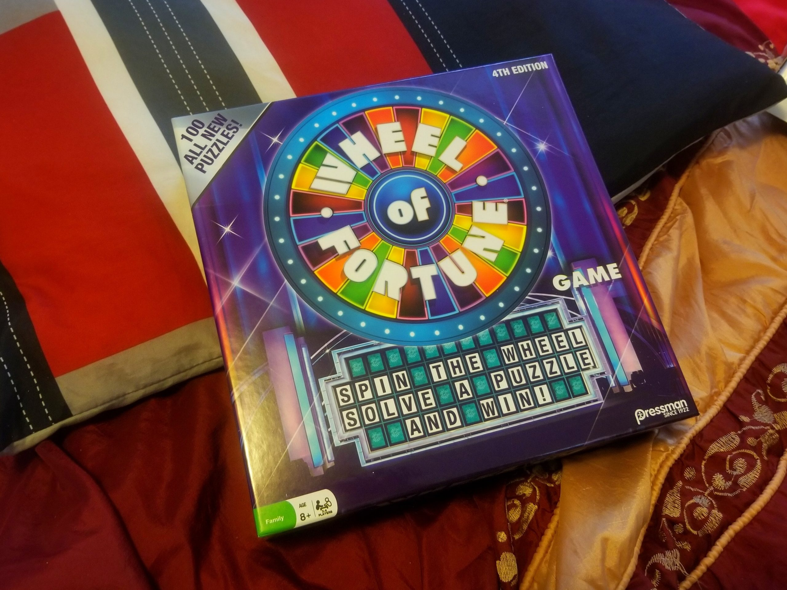 Fun And Games Wheel Of Fortune