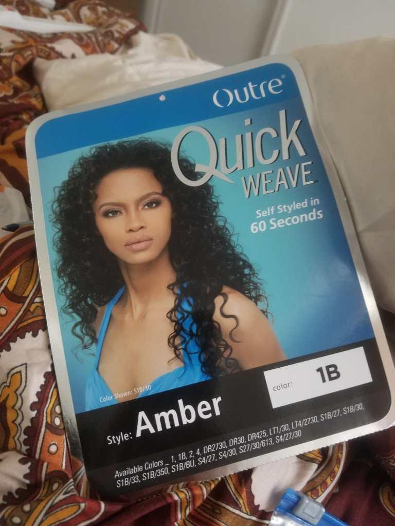 Outre Half Wig