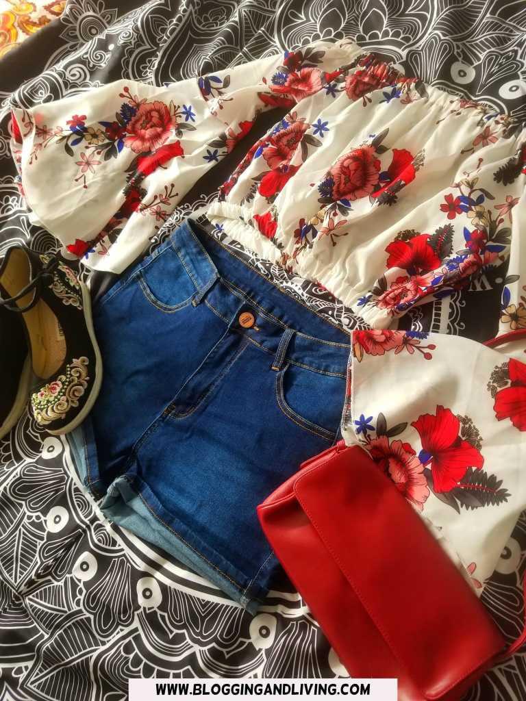 Denim Shorts Outfit