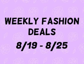 Weekly Fashion Deals