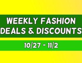 Weekly Fashion Deals