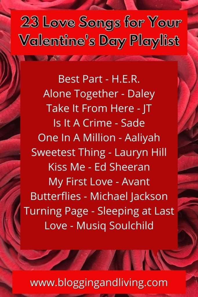 Love Songs Playlist