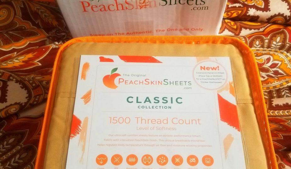 Peachskin sheets review